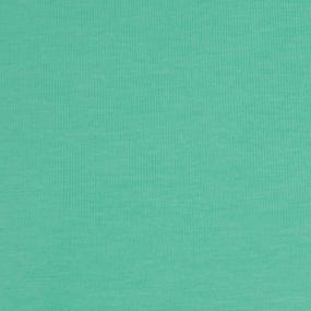 Ткань на отрез кулирка с лайкрой цвет ментол фото