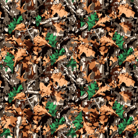 Ткань на отрез бязь камуфлированная ГОСТ грунт 150 см 786-1п фото