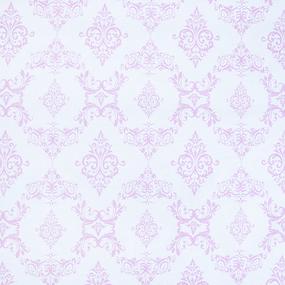 Бязь плательная б/з 150 см 8105 Дамаск цвет розовый фото