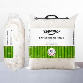 Одеяло Бамбуковая роща тёплое 400 гр 200х220 фото