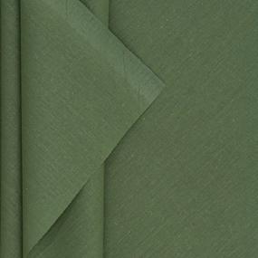Ткань на отрез поплин гладкокрашеный 220 см 115 гр/м2 цвет эвкалипт фото