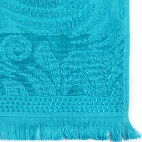 Полотенце велюровое Венский вальс 50/90 см цвет мурена фото