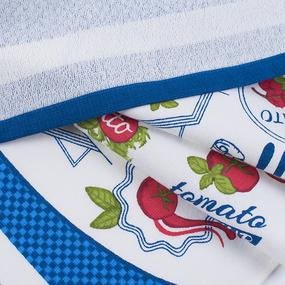 Кухонное гладкотканое полотенце 40/70 вид 1 фото