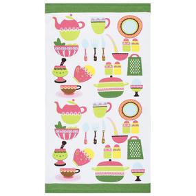 Кухонное гладкотканое полотенце 40/70 вид 5 фото