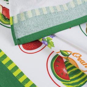 Кухонное гладкотканое полотенце 40/70 вид 6 фото