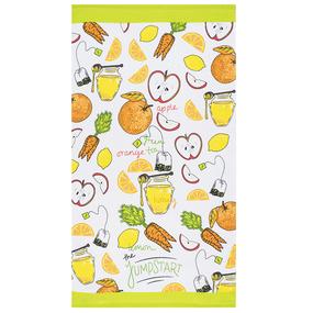 Кухонное гладкотканое полотенце 40/70 вид 9 фото