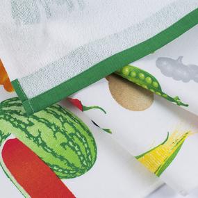 Кухонное гладкотканое полотенце 40/70 вид 10 фото