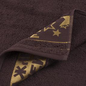 Полотенце махровое Real man 50/90 см цвет шоколадный фото