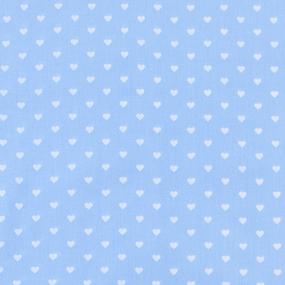Мерный лоскут на отрез бязь плательная 150 см 1746/3 цвет голубой фото
