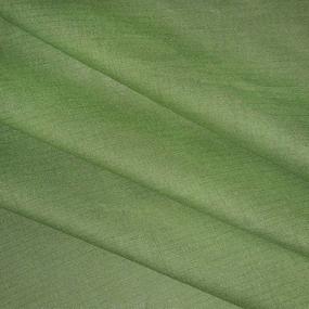 Ткань на отрез полулен 150 см 70056 цвет зеленый фото
