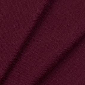 Ткань на отрез футер петля с лайкрой Zinfandel 9984 фото