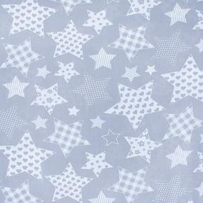Маломеры бязь плательная 150 см 1683/17 цвет серый 1 м фото