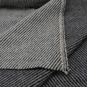 Весовой лоскут Набор №2.38 Драп серый 0,3 - 1,5 м 1,621 кг фото