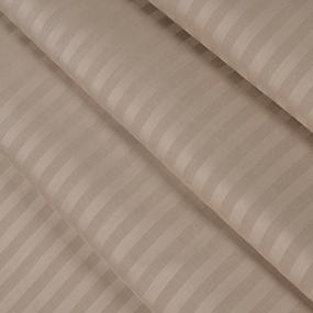 Ткань на отрез страйп сатин полоса 1х1 см 240 см 140 гр/м2 В005 фото