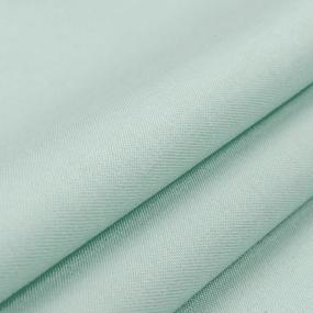 Ткань на отрез сатин гладкокрашеный 162BGS светло-зеленый air jet фото