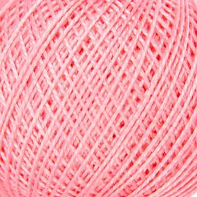 Нитки для вязания Ирис 100% хлопок 25 гр 150 м цвет 1006 светло-розовый фото