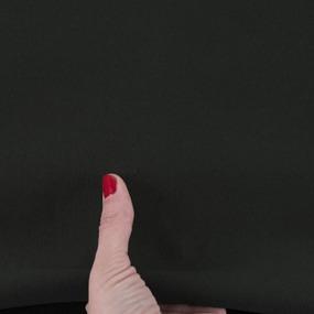 Ткань на отрез футер 3-х нитка диагональный 3772-1 цвет черный фото