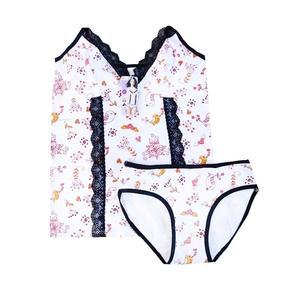 Пижама женская Indena 37013 цвет белый р. XXL фото