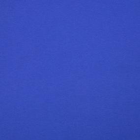 Ткань на отрез кулирка М-2082 цвет темно-голубой фото