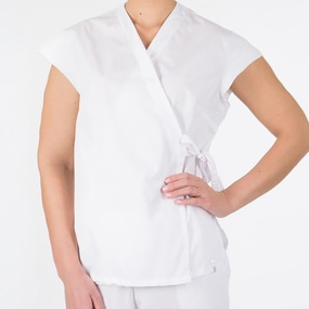 Блузка-кимоно медицинская 52-54 рост 172-176 уценка фото