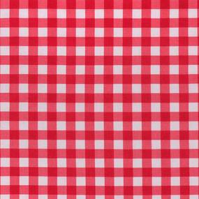 Ткань на отрез полулен 150 см 10432/6 цвет красный фото