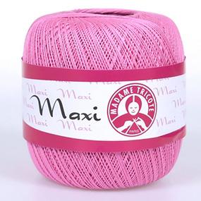 Пряжа Madame Tricote Maxi 100% хлопок 100 гр. 565м. цвет 5001 фото