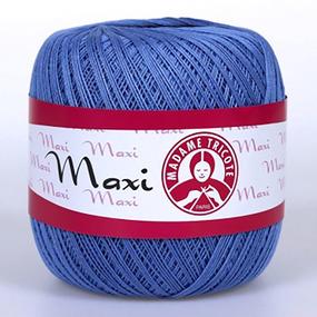 Пряжа Madame Tricote Maxi 100% хлопок 100 гр. 565м. цвет 5351 фото