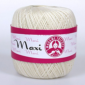 Пряжа Madame Tricote Maxi 100% хлопок 100 гр. 565м. цвет 6282 фото