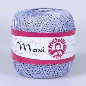 Пряжа Madame Tricote Maxi 100% хлопок 100 гр. 565м. цвет 6307 фото