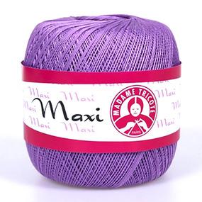 Пряжа Madame Tricote Maxi 100% хлопок 100 гр. 565м. цвет 6309 фото