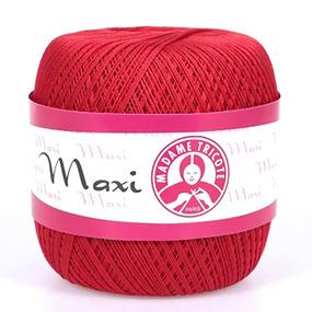 Пряжа Madame Tricote Maxi 100% хлопок 100 гр. 565м. цвет 6328 фото