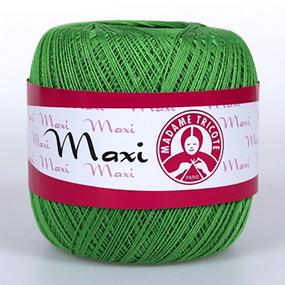 Пряжа Madame Tricote Maxi 100% хлопок 100 гр. 565м. цвет 6332 фото