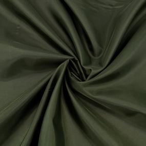 Ткань на отрез таффета 150 см 190Т цвет хаки фото