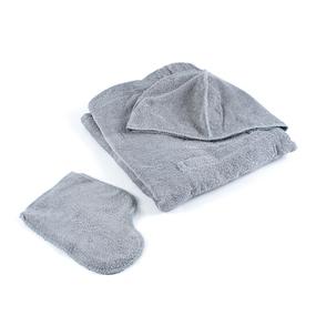 Набор для сауны мужской цвет серый фото