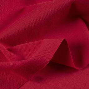 Ткань на отрез рибана с лайкрой 2322-20 цвет темный красный фото