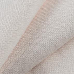 Ткань на отрез рибана с лайкрой 4001-18 цвет светлый сливки фото