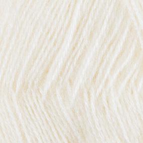 Пряжа для вязания Ализе AngoraGold (20%шерсть, 80%акрил) 100гр цвет 001 кремовый фото