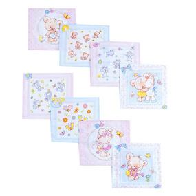 Ткань на отрез cитец платочный 95 см 5468/1 Малыши фото