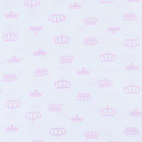 Мерный лоскут бязь плательная б/з 150 см 369/2 цвет розовый 5,4 м фото