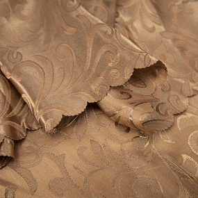 Портьерная ткань 150 см на отрез 100/2С цвет 5 шоколад фото