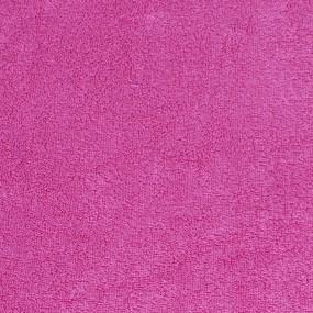 Простынь махровая цвет Малиновый 150/220 фото