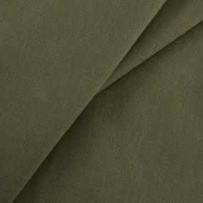 Ткань на отрез бязь гладкокрашеная 120 гр/м2 150 см цвет олива фото