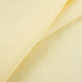 Ткань на отрез бязь гладкокрашеная 120 гр/м2 150 см цвет желтый фото