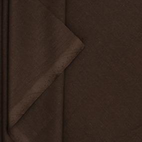 Ткань на отрез поплин гладкокрашеный 115 гр/м2 220 см цвет мокко фото