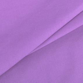 Ткань на отрез поплин гладкокрашеный 115 гр/м2 220 см цвет черника фото