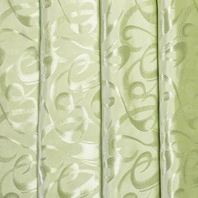 Портьерная ткань 150 см 21 цвет салатовый фото