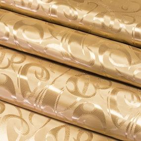 Портьерная ткань 150 см 5 цвет золотой фото