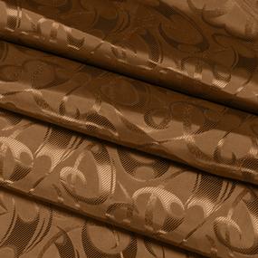Портьерная ткань 150 см 10-1 цвет коричневый фото