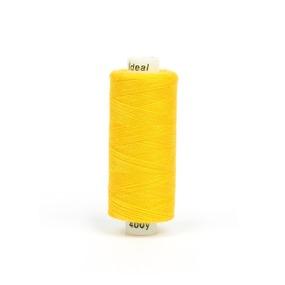 Нитки бытовые IDEAL 40/2 366м 100% п/э, цв.135 желтый фото