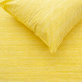 Простыня перкаль 2049311 Эко 11 желтый Евро фото